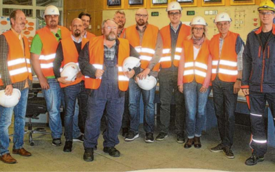 W.V.B. besucht die MVA in Stapelfeld